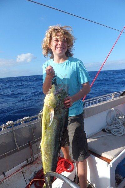 Et une dorade pour notre pêcheur